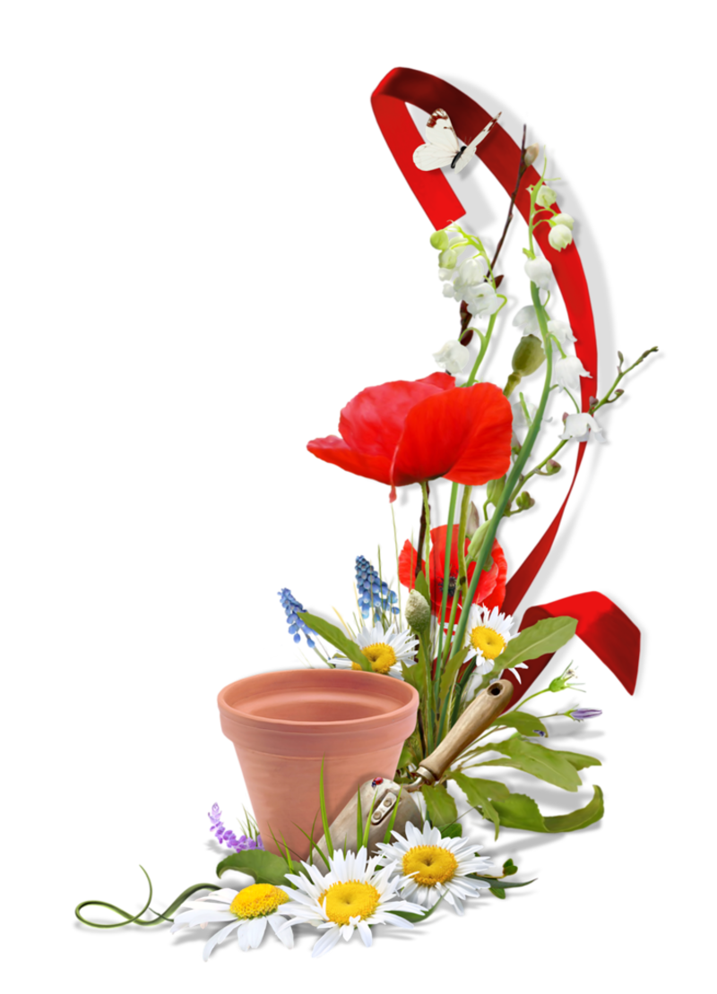 Cluster for Deco jardin fleur